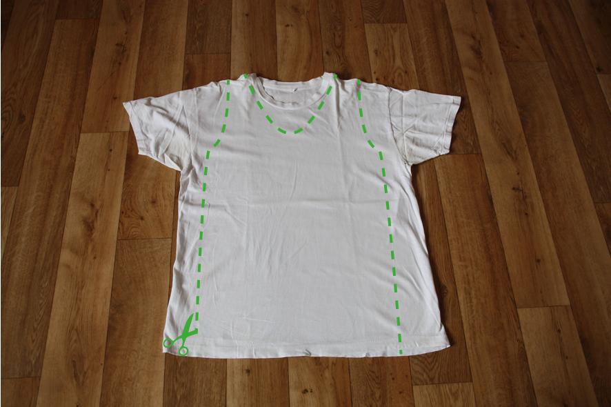 Diy T Shirt Kleid Trashheartde